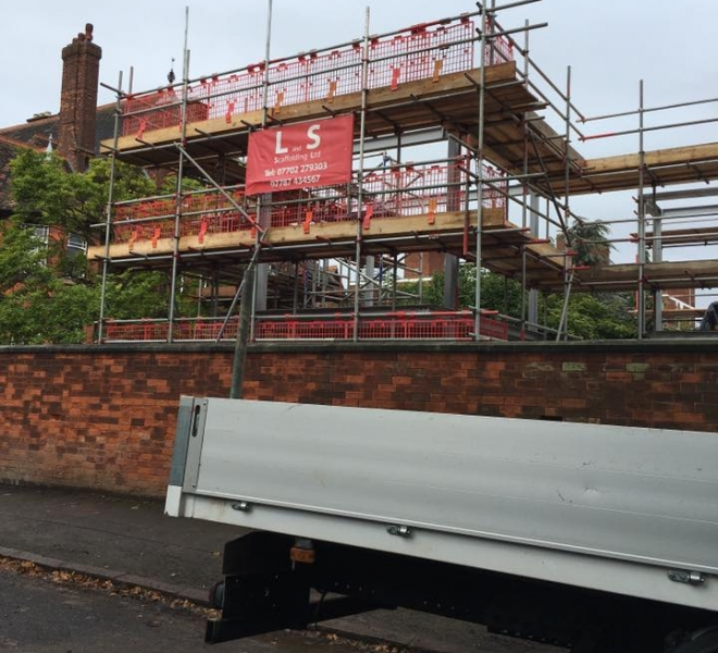 L&S Scaffolding Company in Leicester