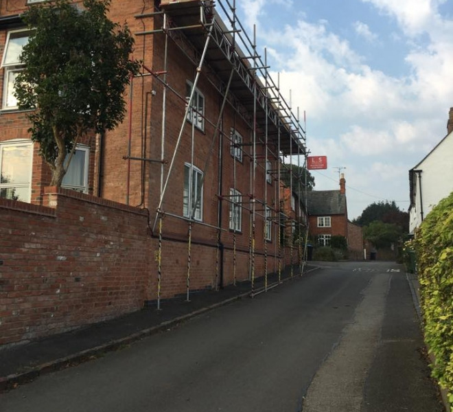 L&S Scaffolding Company in Leicestershire