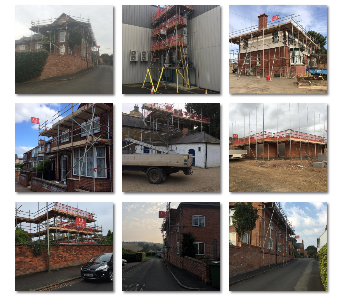 L&S Scaffolding - Projects